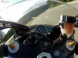 Экстремальная поездка на мотоцикле